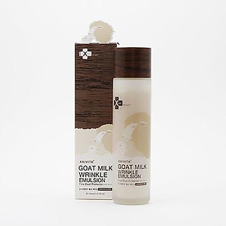 Sữa rửa mặt chiết xuất từ sữa dê dạng bọt XAIVITA GOAT MILK BUBBLE FOAM CLEANSING 3