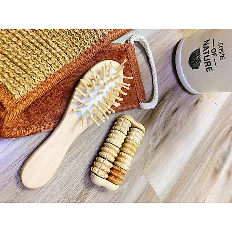 Lược massage bằng gỗ cho nữ 5