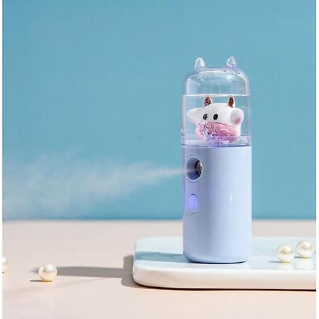 Máy Phun Sương Nano Mini Cầm Tay Bò Sữa 30ml, Hỗ Trợ Xịt Khoáng Cấp Ẩm, Sạc USB Nhỏ Gọn Tiện Lợi 2