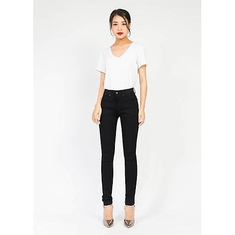 Quần jean nữ đen ôm 1