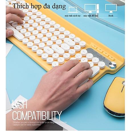 Bộ bàn phím và chuột không dây cao cấp -500 3