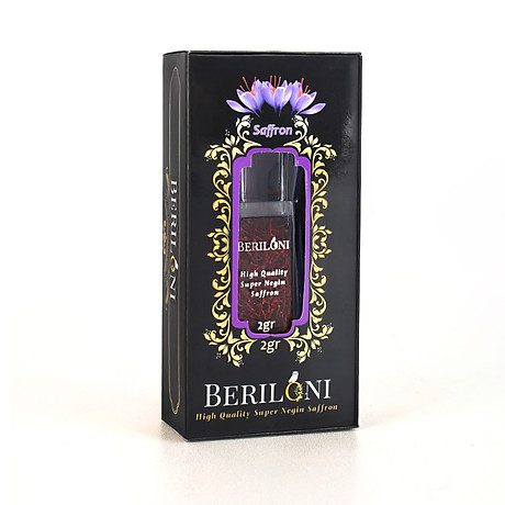 Nhuy Hoa Nghệ Tây Beriloni Saffron loại cao cấp Super Negin (2 Grams) 1