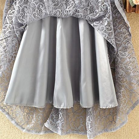Chân váy ren hoa xòe 2 lớp Haint Boutique Cv18 4