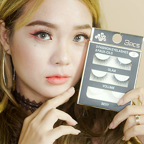 Lông mi chồn 3 Fashion Eyelashes 3 Faux (Dày mi L8) 5