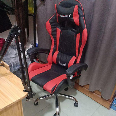 Ghế chơi game cao cấp chân xoay nghiêng ngả 360 độ, ngã 155 độ, có gác chân GX015-G 2