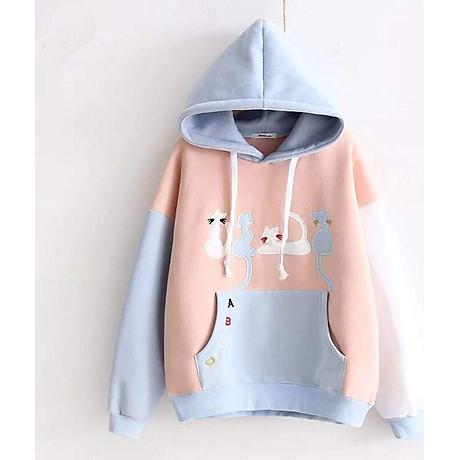 Áo hoodie nữ ABC 1