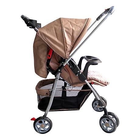 Xe Đẩy Trẻ Em Hai Chiều Gluck Baby C8M - Kem 2