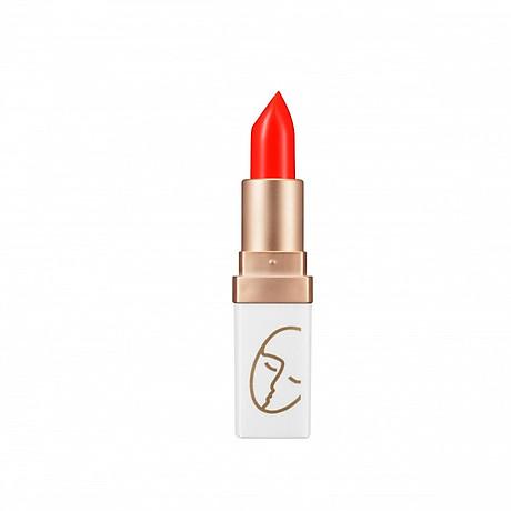Son Lì Lâu Trôi (màu Đỏ Cam) No 5_Javin De Seoul Flower For Me Velvet Lipstick 5 (Reddish Orange) 1
