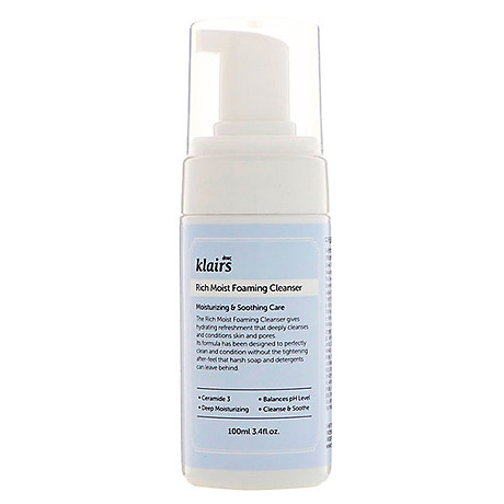 Sữa rửa mặt Rich Moist Foaming Cleanser 1