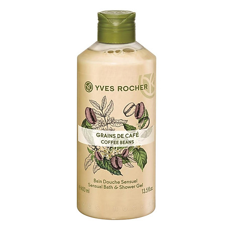 Sữa Tắm Yves Rocher Grains De Cafe Bath & Shower Gel 400ml 1