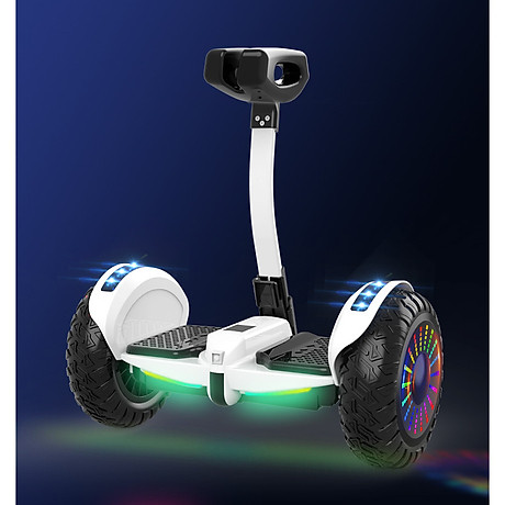 Xe điện cân bằng siêu cấp - 2 tay điều khiển và chân kẹp - Phát nhạc Bluetooth 1