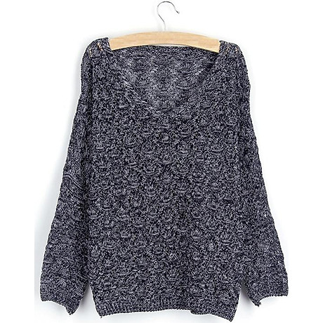 Áo len nữ tay lỡ cách điệu Haint Boutique AL17 5
