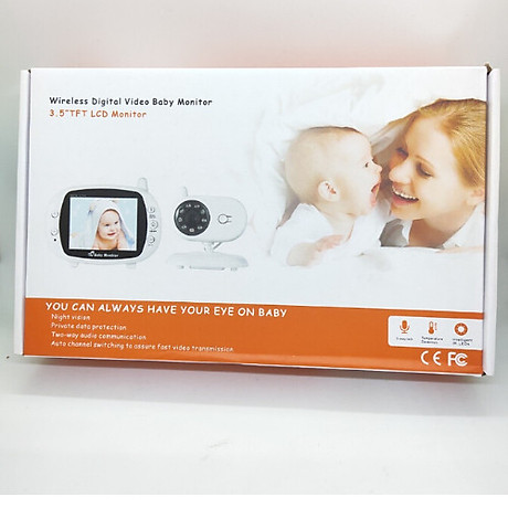 Camera báo khóc trẻ em không dây tần số 2.4G 1