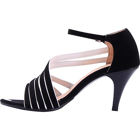 Giày Sandal Nữ Cao Gót Huy Hoàng HT7061 - Đen 3