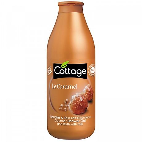 Sữa tắm COTTAGE Le Caramel (Hương Caramel) 750ml 1