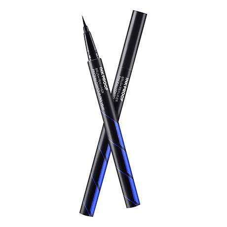 Kẻ Viền Mắt Eyeliner The Face Shop Ink Proof Brush Pen Liner 01 Black 0.06g 1