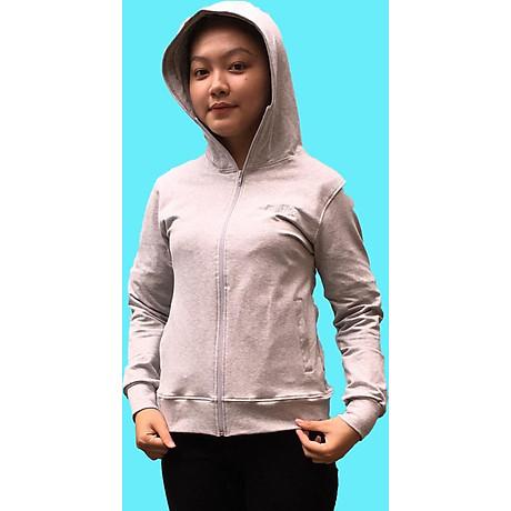 Áo khoác nữ GOKING vải da cá dày 100% cotton, thích hợp chống nắng và giữ ấm hiệu quả 1