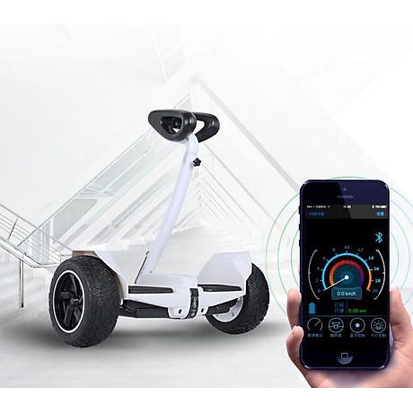 Xe điện cân bằng siêu cấp - 2 tay điều khiển và chân kẹp - Phát nhạc Bluetooth 4