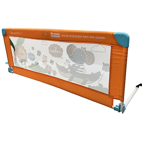 Thanh chắn giường an toàn cho bé Lucky Baby - MOLEE PLUS CHILDREN SAFETY BED GUARD 130x51 cm 500316 2