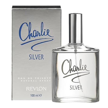 Revlon Charlie Silver Eau De Toilette 100ml Spray 1