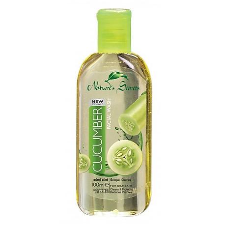 Sữa rửa mặt sạch nhờn giảm mụn Cucumber Facial Wash 100ml 1