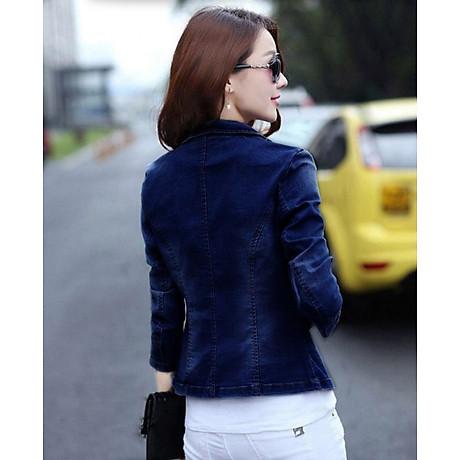 Áo khoác jean nữ cá tính cực xinh BY1068 3