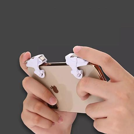 Bộ 2 nút bấm cực nhạy chơi game PUBG mobile, Freefire D99 4