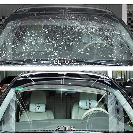 Viên sủi nước mui, nước rửa kính xe hơi 4