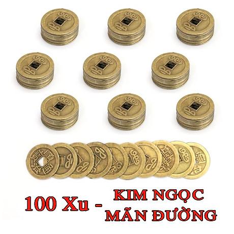 Tiền xu ngũ đế, tiền xu phong thuỷ bỏ bóp ví - THM15 7