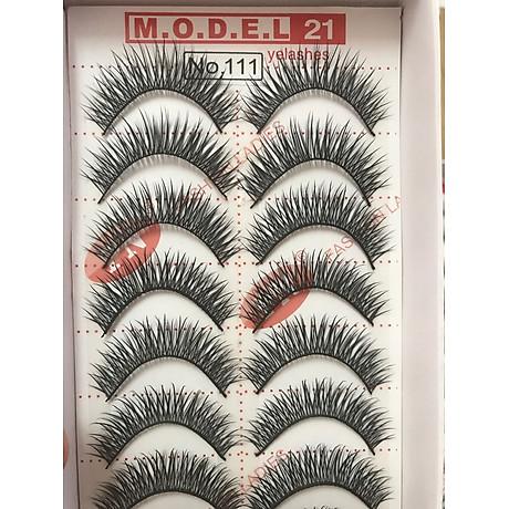 Mi giả tự nhiên Eyelashes Model 21 8