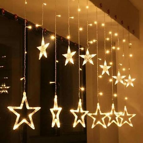 Lều công chúa cho bé yêu tặng kèm đèn nháy sao 3 mét trang trí 7