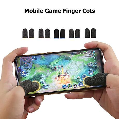 Bộ găng tay chơi game bao 10 ngón tay cao cấp chống mồ hôi chống trượt 3