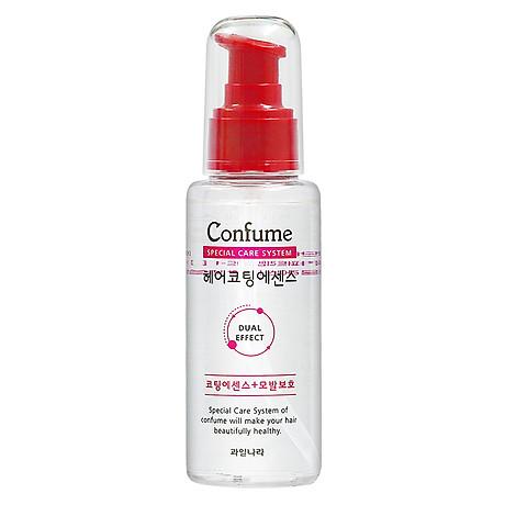 [Tặng móc khoá] Tinh dầu dưỡng tóc thảo dược phục hồi tóc hư tổn Confume Coating Essence 100ml 2