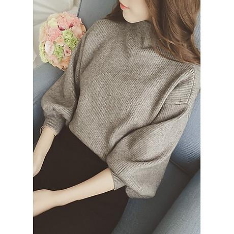 Áo len gân nữ ấm áp Haint Boutique Al40 2
