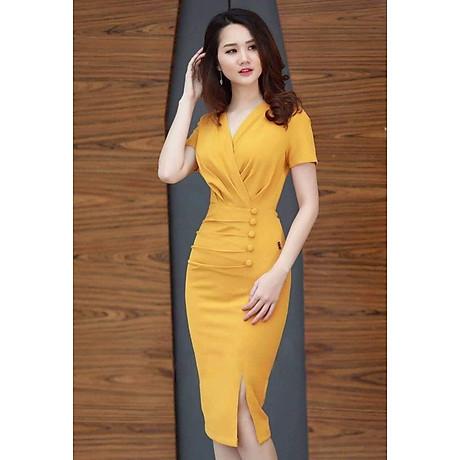 Đầm Kim Tuyến Đóng Nút Thời Trang - BY8116 1