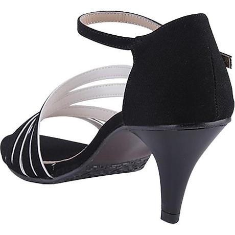 Giày Sandal Nữ Cao Gót Huy Hoàng HT7061 - Đen 5
