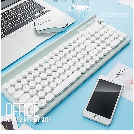Bộ bàn phím và chuột không dây cao cấp -500 4