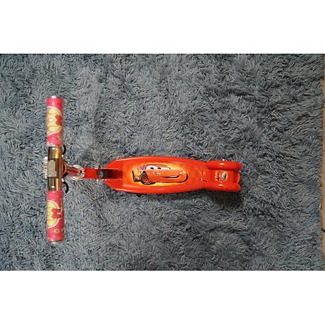 Xe trượt scooter ba bánh phát sáng nhiều màu, gấp gọn ,dễ dàng mang theo cho bé vận động 5