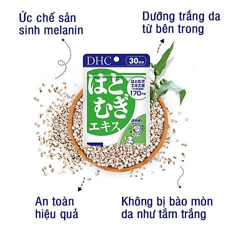 Combo SÁNG DA - MỜ THÂM DHC Nhật Bản gồm viên uống vitamin C và viên uống trắng da 30 ngày JN-DHC-CB1 4