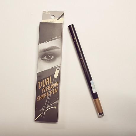 Chì Kẻ Mày Định Hình Đa Năng Vacosi Dual Eyebrow Shape Pen 3