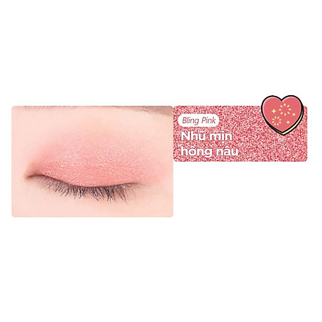 Bảng Phấn Măt Black Rouge Crystal Heart Lock Shadow 30.6g 6