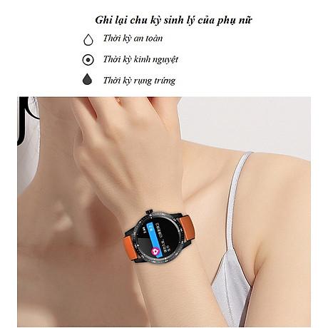 Đồng hồ thông minh đo nhịp tim, huyết áp T5 ( Sang trọng, độc đáo ) - Hàng Nhập Khẩu - Dây thép đen 6