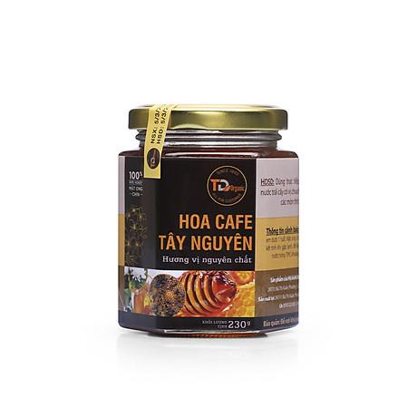 Mật Ong chín TD Organic hoa CAFE Tây Nguyên ( Hũ 230g ) 1