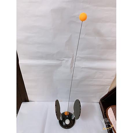 Bóng bàn phản xạ lắc lư cao cấp, không lo văng bóng hay lật đế - tặng kèm 1 dây đàn hồi carbon 69cm 5