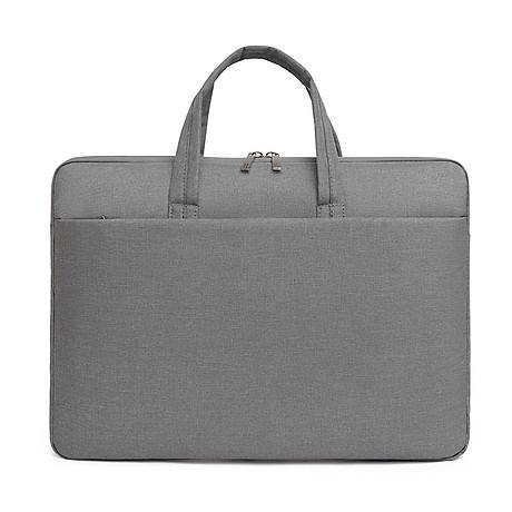 Túi đựng Laptop, túi xách Macbook dành cho công sở, văn phòng, chống nước, đựng vừa laptop 15,6 inch, nhiều ngăn 4