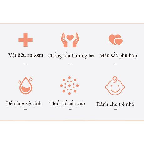 Bộ Dụng Cụ Chăm Sóc Móng Tay Chân Mũi Tai Cho Trẻ Sơ Sinh 4 Món ( Hộp Đựng Hình bầu dục) 3