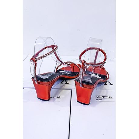 Giày Sandal Cao Gót 5p Quai Đá 4
