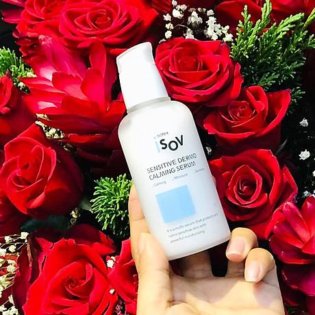 Serum phục hồi cho da nhạy cảm Isov Sensitive Dermo Calming Serum 80ml 4