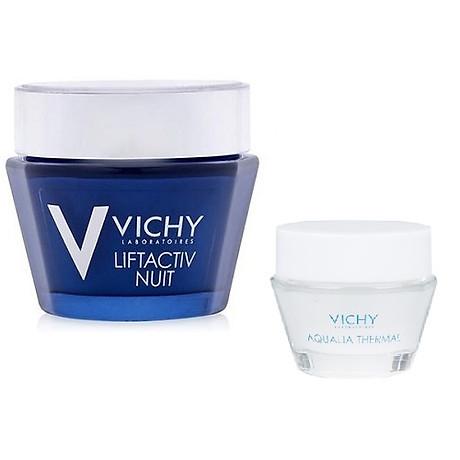 Kem Dưỡng Giúp Chống Nhăn Và Làm Săn Chắc Da Ban Đêm - Liftactiv Ds Night Cream Vichy 50ml Tặng Gel Dưỡng Ẩm Vichy 15ml 1