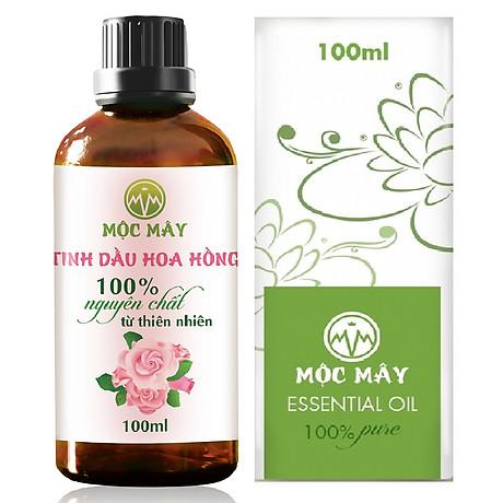 Tinh dầu hoa Hồng 100ml Mộc Mây - tinh dầu thiên nhiên nguyên chất 100% - chất lượng và mùi hương vượt trội 1